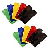 RFID Karten Schutzhülle NFC Blocker Kreditkarte EC Karte Abschirmung - 10er Pack