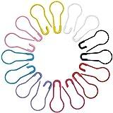 160 Stück Birne Pins Calabash Pin Kürbis Pins Sicherheitsnadeln für Bekleidung Basteln und DIY, 8 Farben