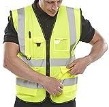 Arbeitsweste Executive, für bessere Sichtbarkeit, 6XL, Gelb - Saturn Yellow, 1