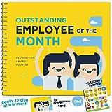 Ausgezeichnete Mitarbeiter Geschenk – Anerkennung Award Booklet – Cool Ideen für die besten Mitarbeiter im Büro. Geschenke für Worlds Best Coworker, Worker oder Mitarbeiter.