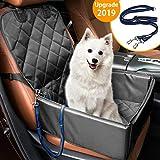 Hunde Autositz MATCC Wasserdicht Sitzbezug Vordersitz mit Extra Hunde Sicherheitsgurt Autositzbezug Sitzbezug Autoschutzdecke Hundedecke Für Haustier Reise (45*45*58cm)
