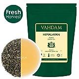 VAHDAM, Himalayan Pearls Grüne Teeblätter | 100gm (40+ Becher) | Reines Grüntee Loose Leaf | Green Tea | Natürlicher Detox Tee, Abnehmen Tee, Abnehmen Tee Gebraut als heißer Tee oder Eistee