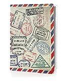 OPTEXX RFID Reisepass-Hülle TÜV geprüft & zerifiziert Grenzland Ausweis-hülle Schutzhülle Schutz-Etui Pass-hülle aus Vegi leder sicheres Blocking Passport