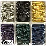 Yline 390 Sicherheitsnadeln - Sortiment farbig 28 mm, Sicherheits- Nadel Nadeln, 3089