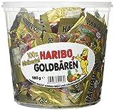 Haribo Goldbären 100 Minibeutel, 1er Pack (1 x 980 g Dose)