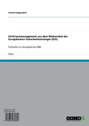 EU-Krisenmanagement aus dem Blickwinkel...