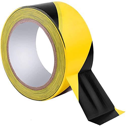 JEMESI Bodenmarkierungsband schwarz&gelb...