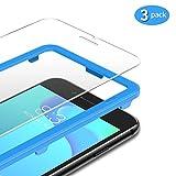 TAMOWA für Panzerglas Kompatibel für iPhone 8 / iPhone 7 (3 Stück), Panzerglasfolie 9H Härte für Panzerglas Schutzfolie mit Positionierhilfe, Anti-Kratzen, Anti-Öl, Anti-Bläschen
