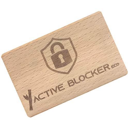 RFID Blocker Karte aus Bambus - GranHin...