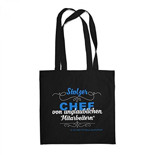 Fashionalarm Stoffbeutel - Stolzer Chef...