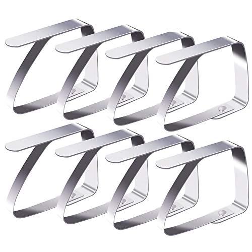 Blooven 8 Stück Tischtuchklammern...