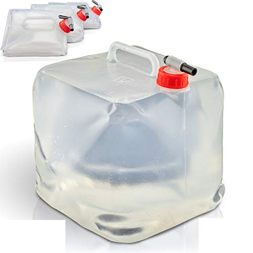 4 STÜCK Wasserkanister 10l   Faltbar  ...
