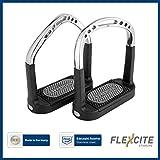 Sprenger Flexcite Steigbügel - Edelstahl rostfrei, 120 mm Trittweite