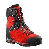 Haix Protector Ultra Schnittschutzstiefel Klasse 2 603108, Farbe:rot/schwarz, Schuhgröße:42 (UK 8)
