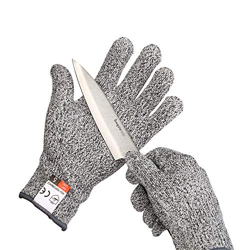 Yizhet Schnittschutz-Handschuhe Extra...