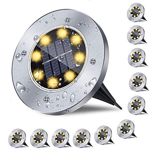 12er Solar Bodenleuchten , Solarlampen...
