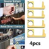 No-Touch-Türöffner, 4-tlg, RFID-Zugangskontrolltastatur Türöffner Elektronisches Schließsystem 40-teilige RFID-Schlüsselanhänger
