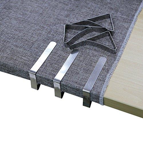 Meiso Tischdeckenklammer, 6 Stück...