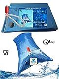 Superfind24 Wasserbeutel, Wassersack, 220 Liter Prepper Wasser Notfallvorsorge Set für die Badewanne.