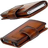 Figuretta Premium Leder RFID Geldbörse London - Praktisches smart Wallet mit Aluminium Kreditkarten-etui und Münzfach + Gratis E-Book