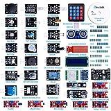 ELEGOO Aufgerüsteter 37 in 1 Sensormodul Bausatz Kompatibel mit Arduino IDE mit Anleitung für Elektronik Projekte