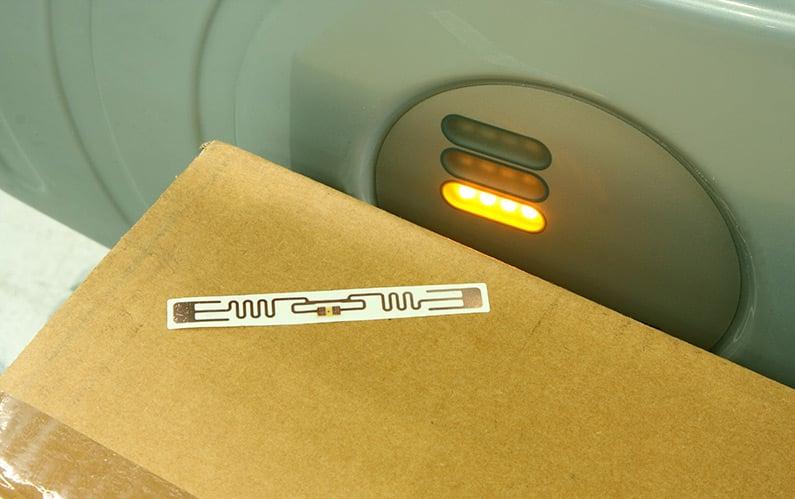 Mit RFID gehen Produkte immer auf eine sichere Reise