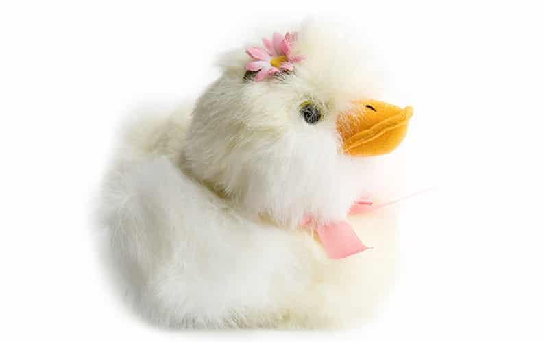 Wie eine kleine Ente kranken Kindern hilft