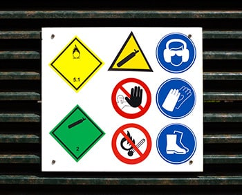 Symbole Arbeitssicherheit sollte jeder kennen