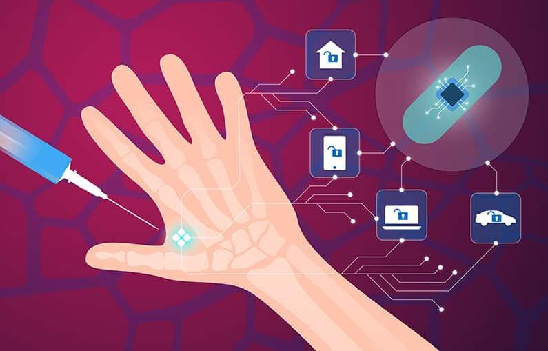 Nein zum Chip - die Mehrheit der Bundesbürger will keine RFID-Überwachung